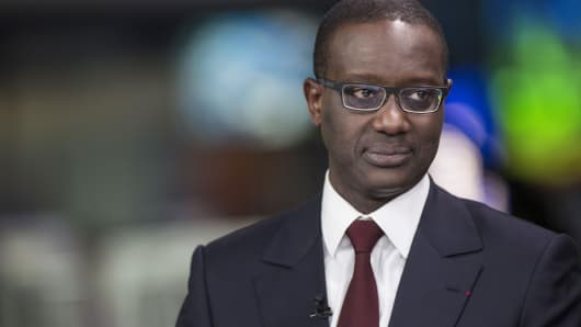 Tidjane Thiam Flags Acquisition With Credit Suisse
