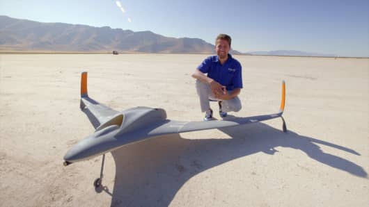 Aurora Flight Sciences' high-speed UAV