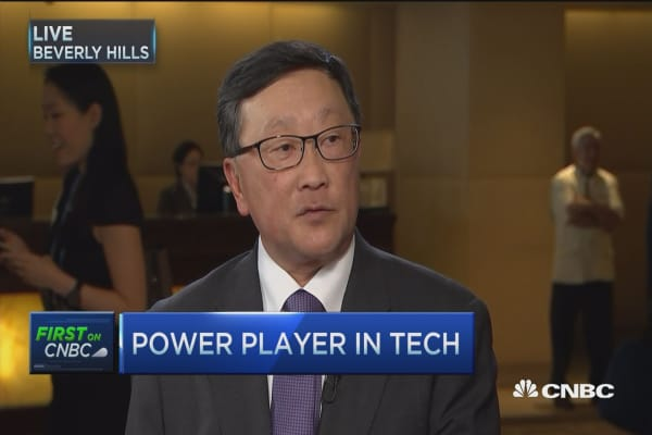 Blackberry CEO: Good growth & 2 new phones by year end