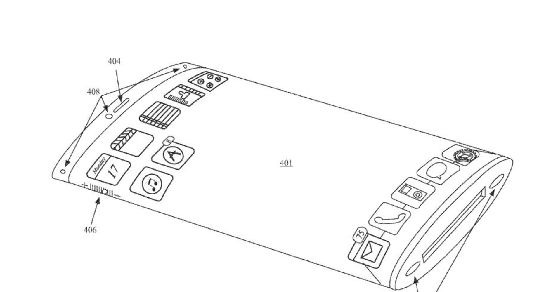 Apple patents show future iPhone could have a wraparound