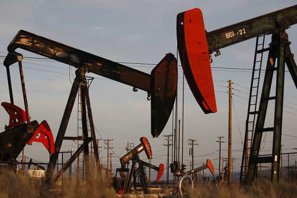 Oil Drills, in California