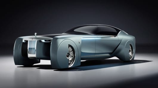Rollsroyce Ditches The Chauffeur In This Futuristic