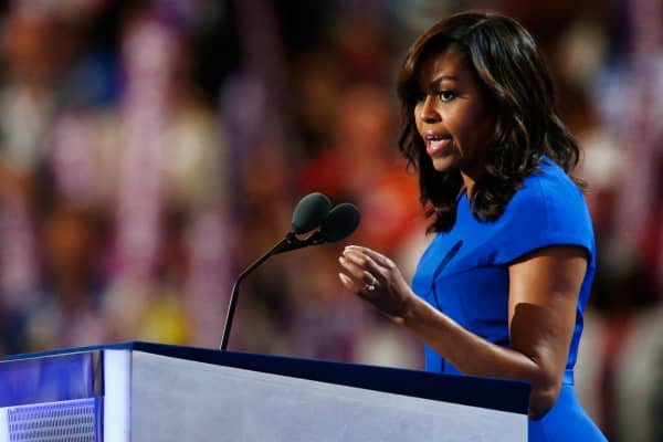 Image result for michelle obama convention speech