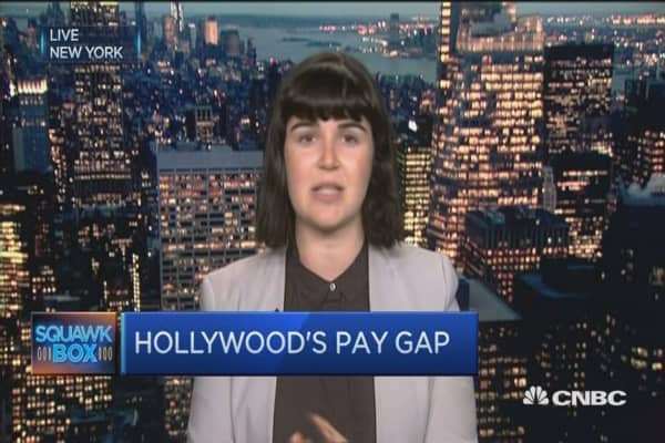 Hollywood Pay Gap