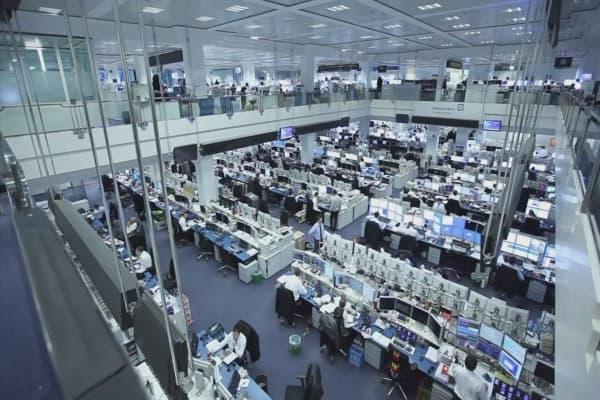 Les banques se préparent pour 'hiver nucléaire économique »