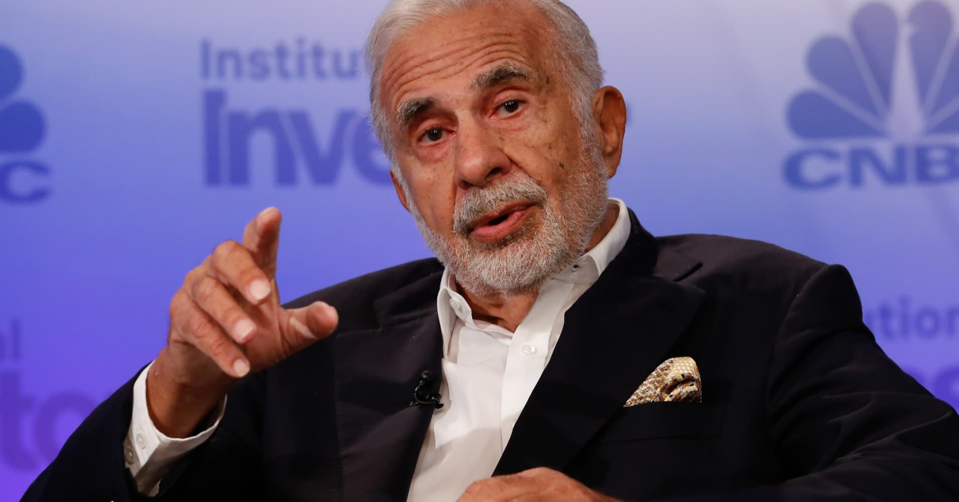 Carl Icahn: One day the market will 'implode' because of derivatives