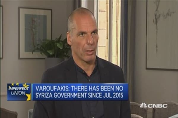 There is no Greek government: Yanis Varoufakis
