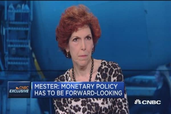 Fed's Mester: It's a 'solid' labor report