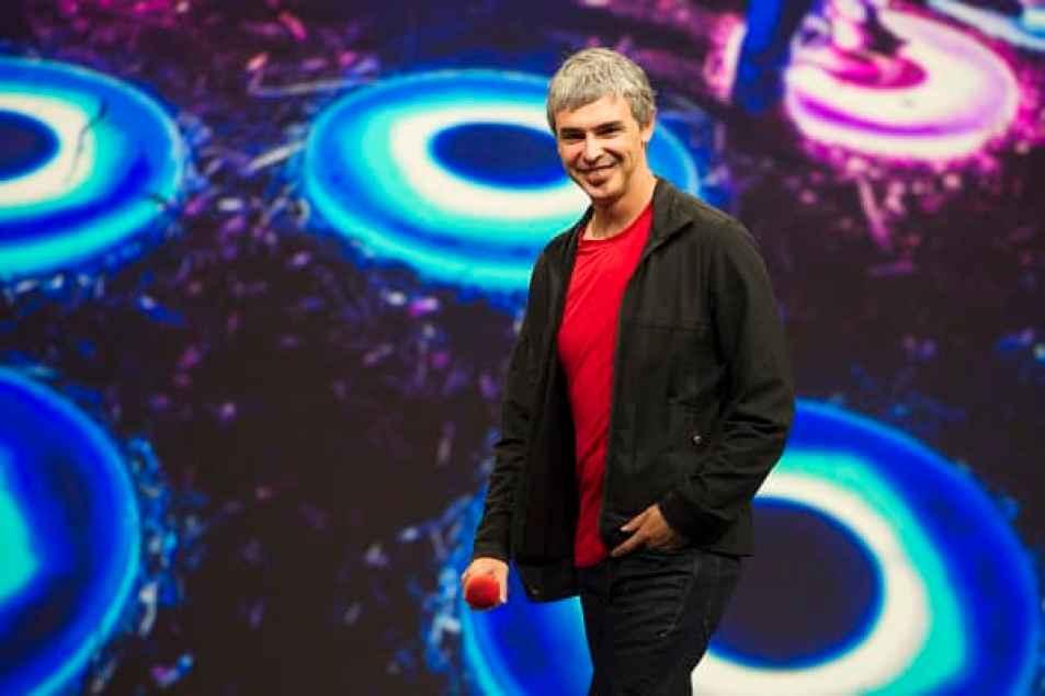 Larry Page, director ejecutivo de la empresa matriz de Google, Alphabet Inc.