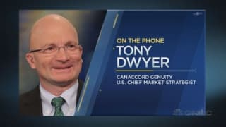 Tony Dwyer: The rally is set to continue