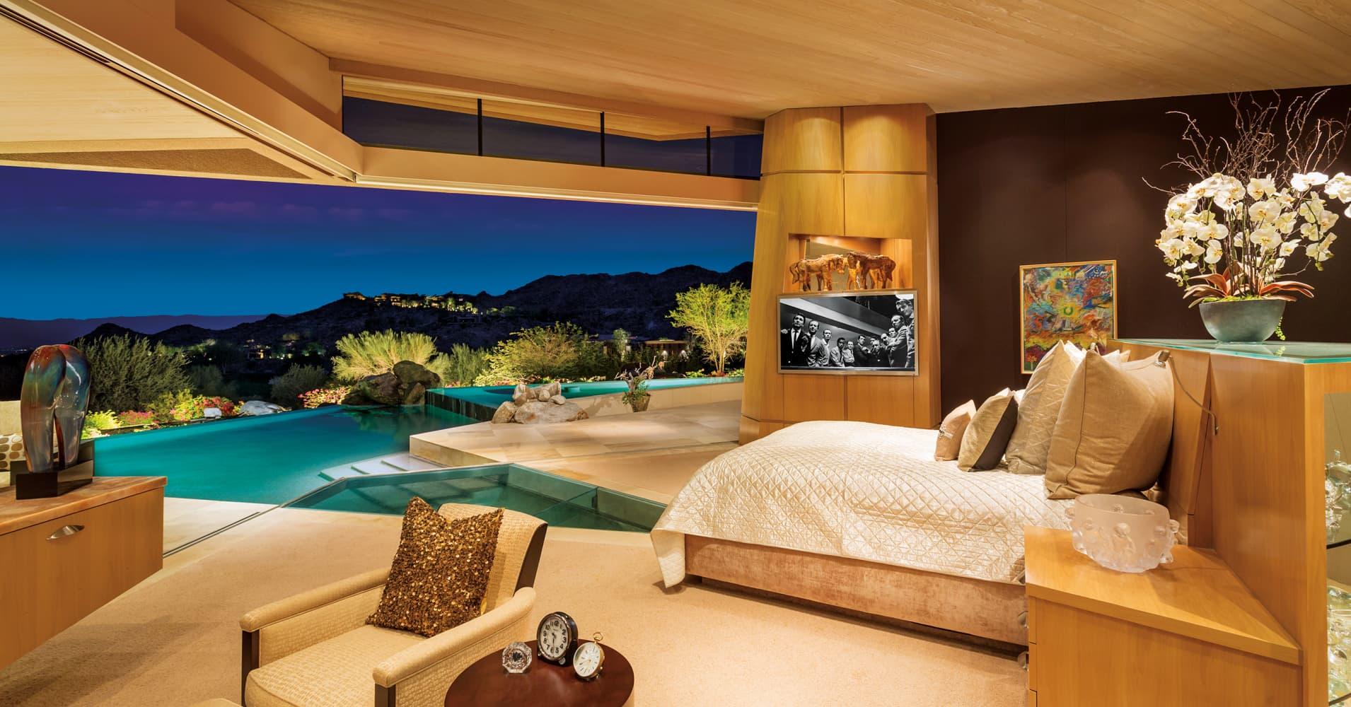 Look Inside Jerry Weintraubs 12 Million Desert Mansion