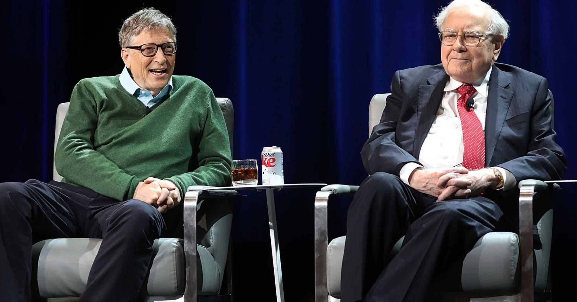Diet Quotes Wallpaper Bill Gates And Warren Buffett Think Success Isn T About Money