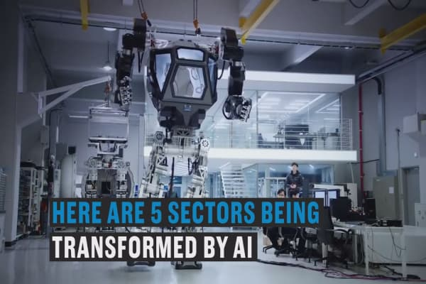 These five industries are being revolutionized by AI