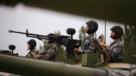 Image result for China reportedly preps for crisis along border with North Korea