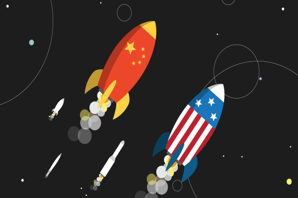 U.S. and China face off in the new global space race