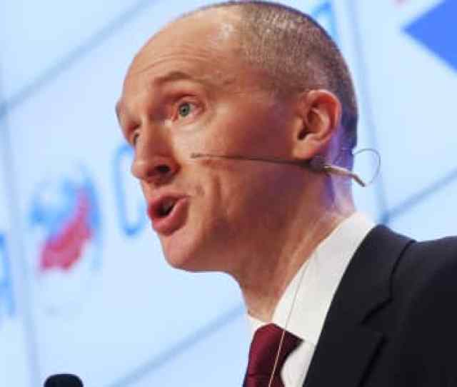 Dec  Carter Page A Former Foreign Policy Adviser To President Donald Trump During