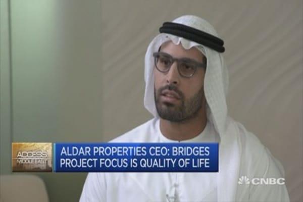 Bridges project focus is on quality of life: Aldar Properties CEO