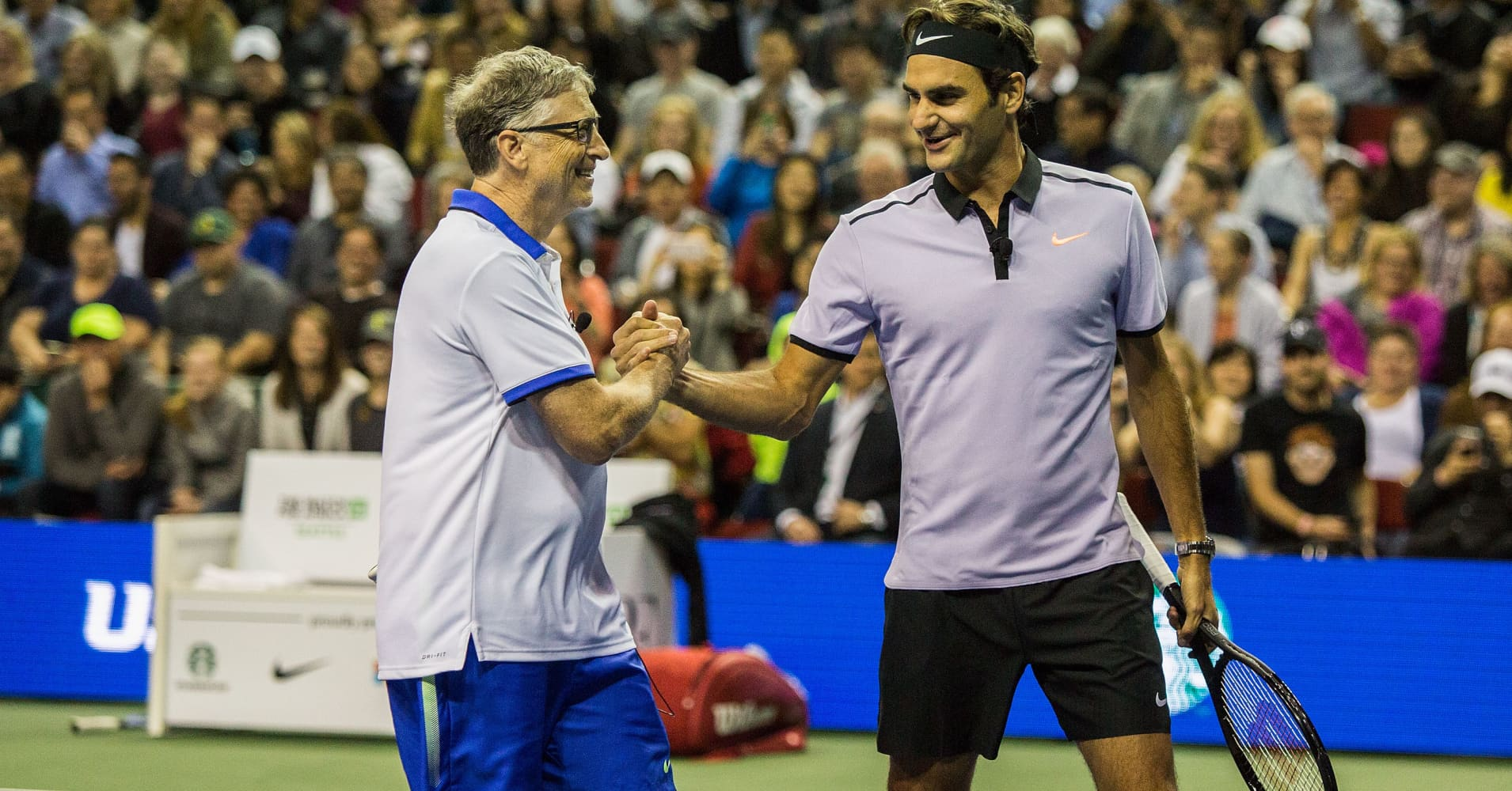 Bill Gates Admitted Nervous Playing Tennis With