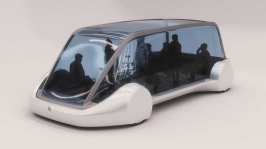 Boring Company electric vehicle