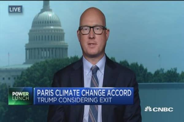 Would a Paris Accord exit be a disaster?
