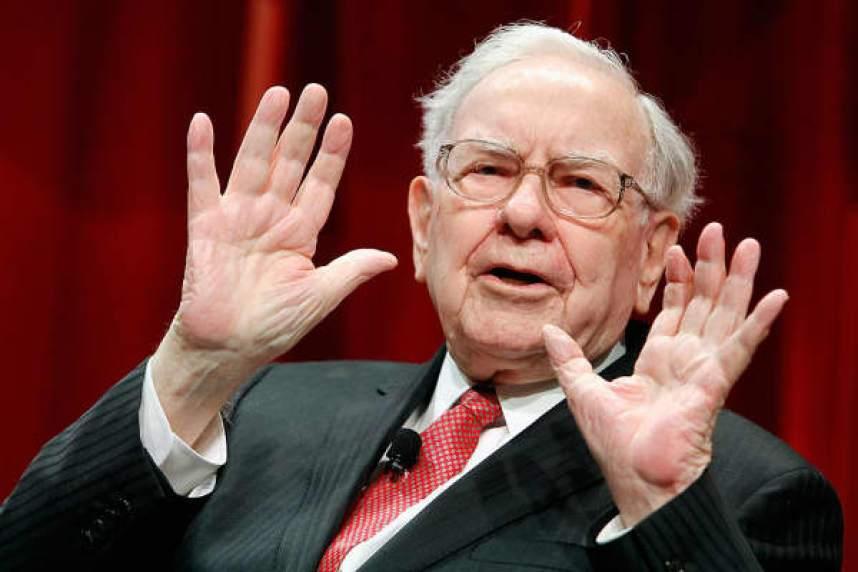 Warren Buffett, consejero delegado de Berkshire Hathaway