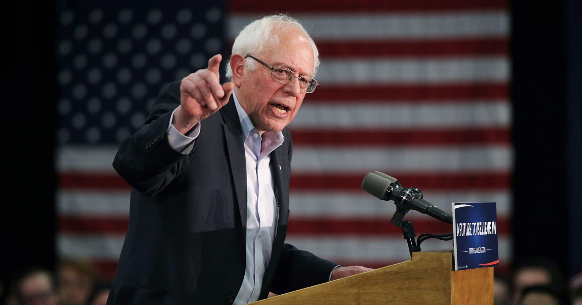 Bernie Sanders Is The Democrats Real 2020 Frontrunner