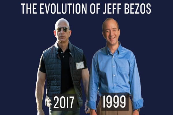 The evolution of Jeff Bezos: See if you can recognize him through the years