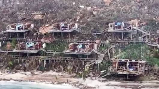 Hurricane Irma Decimates Bitter End Yacht Club On Virgin Gorda