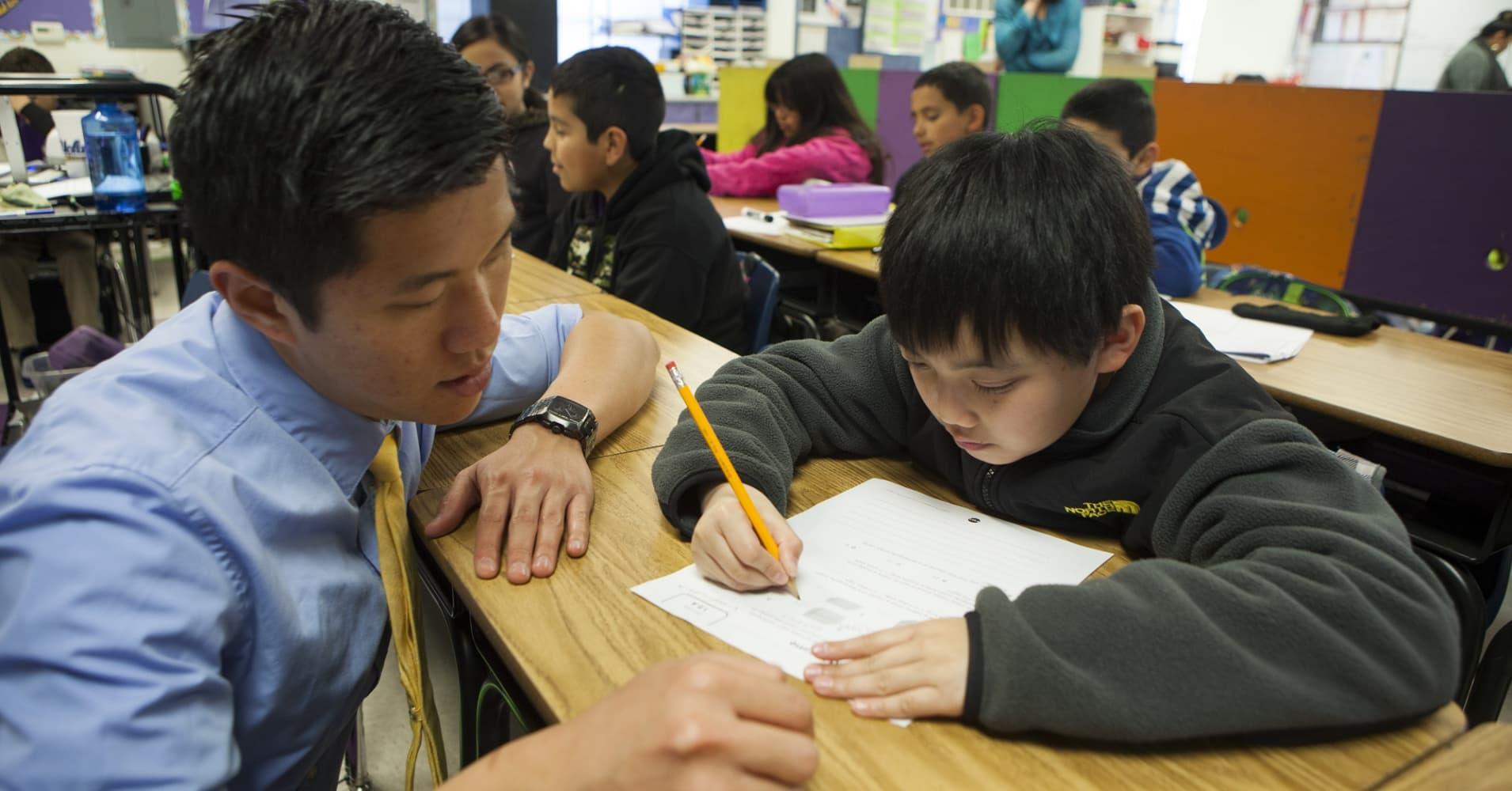 Cities Teacher Salaries Furthest