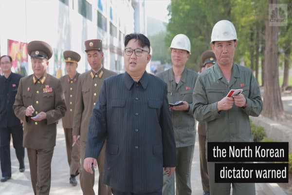 North Korea leader Kim Jong Un says Trump is 'deranged'