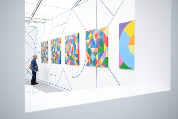 The Frieze Art Fair on October 6, 2017 in London, England