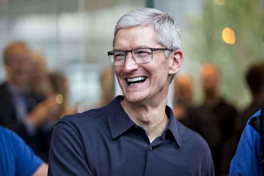 Tim Cook, director ejecutivo de Apple, Inc.