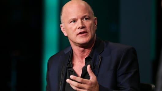 Michael Novogratz, CEO of Galaxy Investment Partners