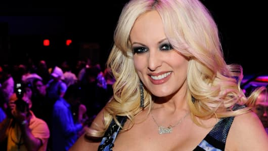 Image result for trump with porn star stormy