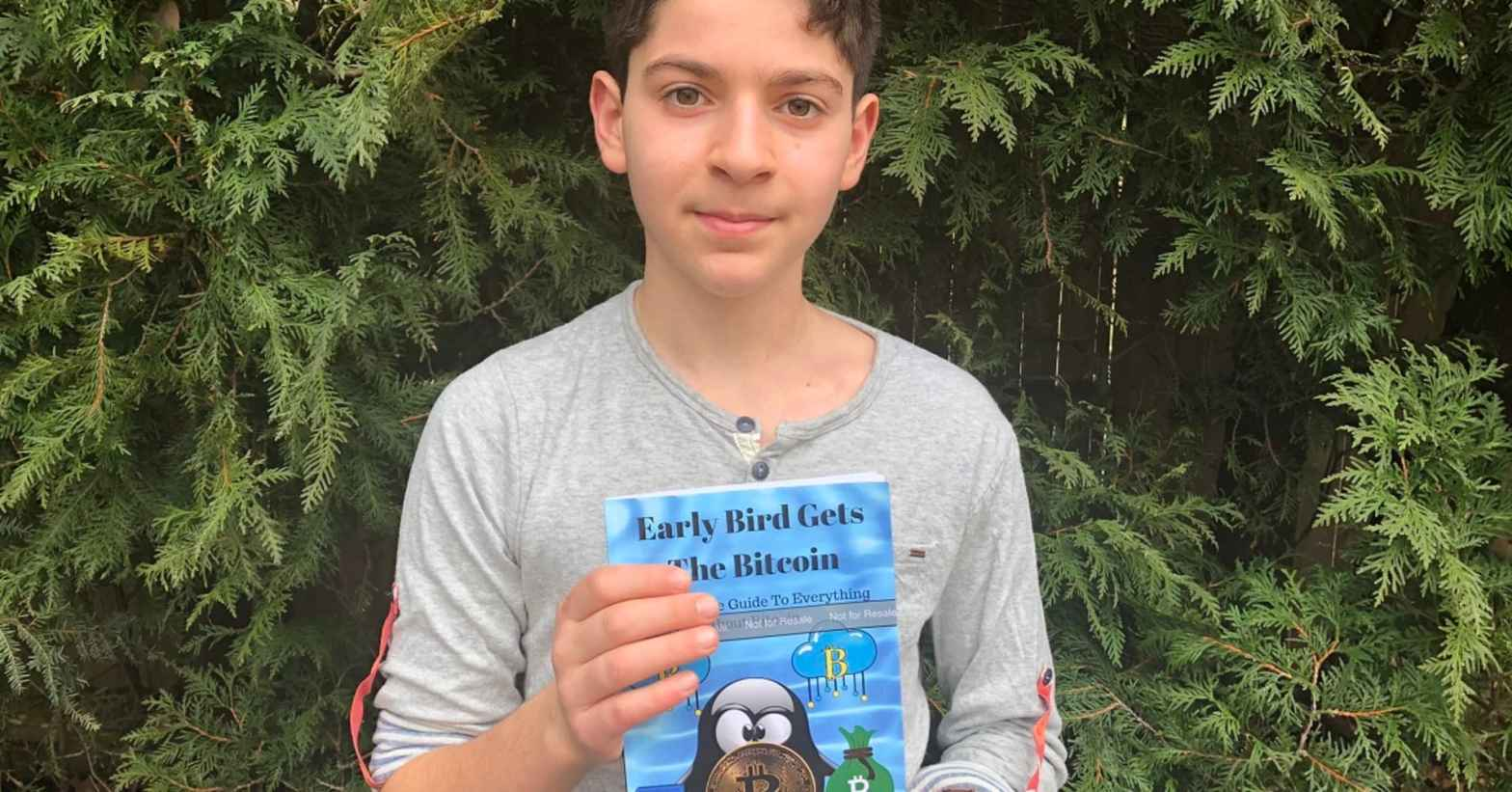 11 Year Old Andrew Courey Wrote A Book On Bitcoi