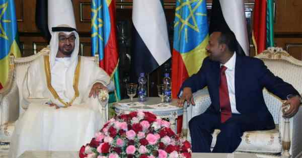 United Arab Emirates gives Ethiopia 1 billion lifeline to