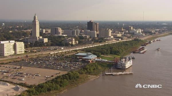 Baton Rouge After Devastating Floods Leads Battle