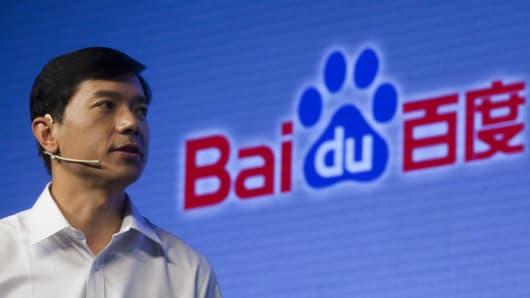 Robin Li, director ejecutivo de Baidu Inc.
