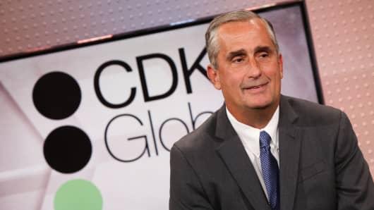 Brian Krzanich, CEO of CDK Global.