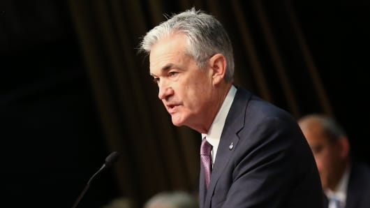 Jerome Powell, Chairman of the Federal Reserve, speaking at the New York Economic Club on Nov. 181128.