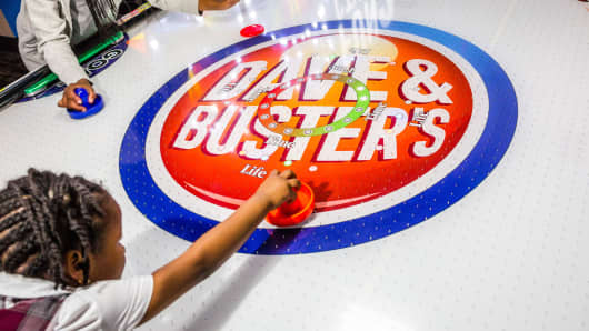 Dave Buster S Shares Jump On Raised Forecast As Sales
