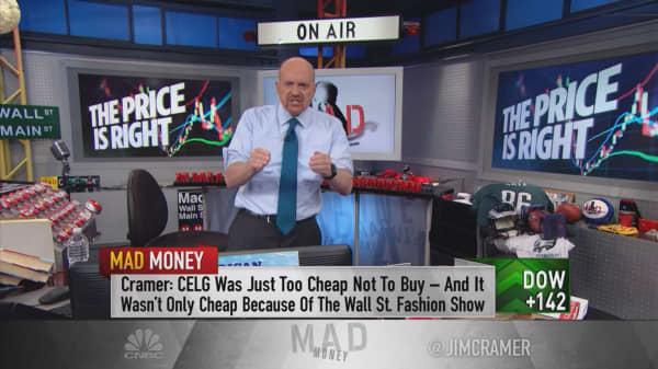Dealmaking surge confirms the stock market got far too cheap after late 2018 sell-offs: Cramer