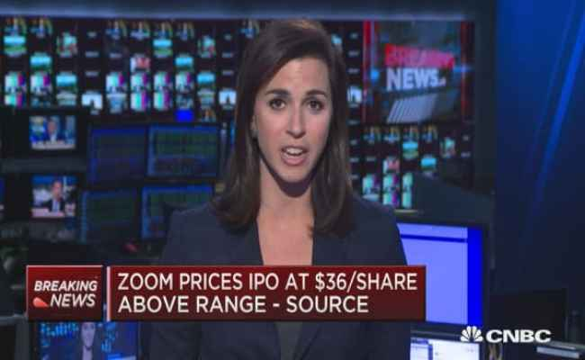 Zoom Ipo Prices At 36 Share