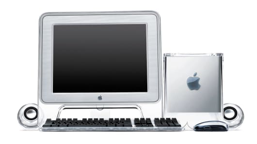 Apple introduced the Power Mac G4 Cube July 19, 2000, an entirely new class of computer that delivers the performance of a Power Mac G4 in an eight inch cube suspended in a stunning crystal-clear enclosure.