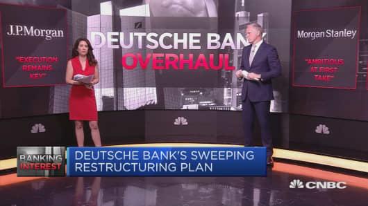Wall Street on Deutsche Bank's $8.3 billion overhaul