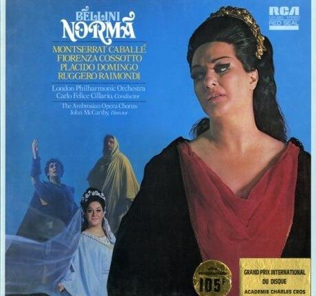 DE RCA LSC6202 カバリェ&チラーリオ ベッリーニ・ノルマ(全曲)