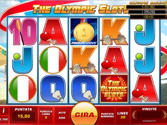The Olympic Slots Vorschau