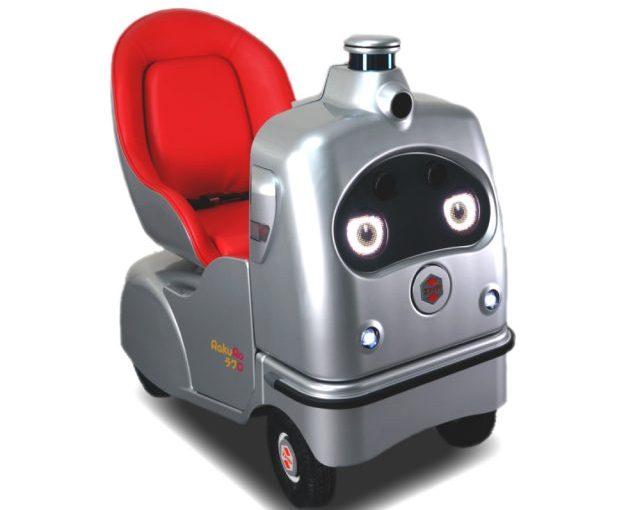 中央区佃・月島エリアに登場! 自動走行ロボット「RakuRo」🌰Art Focus @ Tokyo
