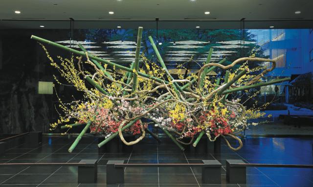 「京橋彩区 芸術文化講座」🎃お花のお話 『C' mon A Kamon』🎃レッツEnjoy講座