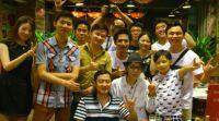 with Kainan Staff